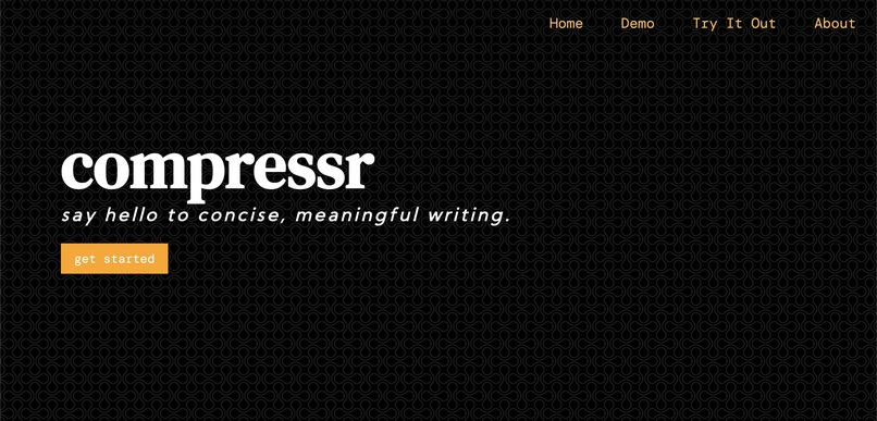 Compressr – screenshot 1