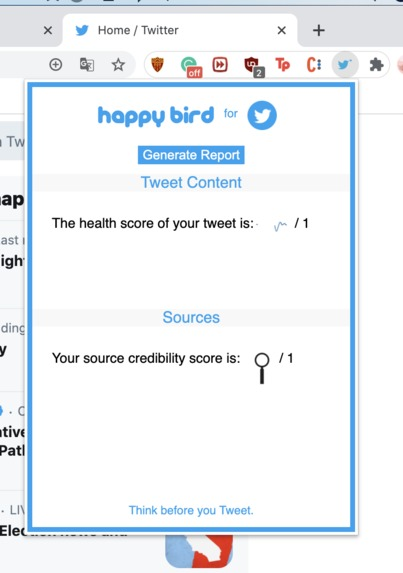 Happy Bird for Twitter – screenshot 3