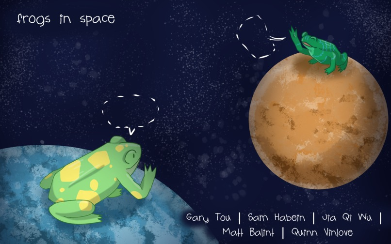 Frogs in Space – screenshot 3