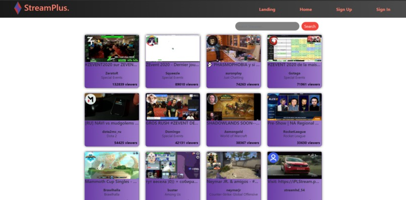 StreamPlus – screenshot 1