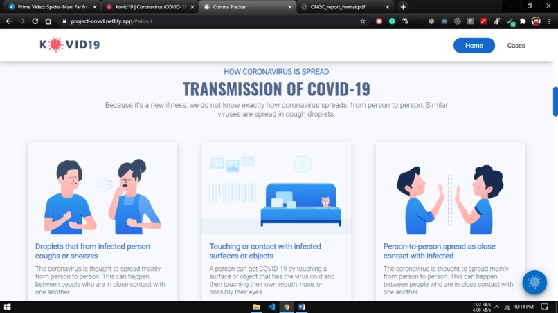 Covid-19 info and Tracking – screenshot 7