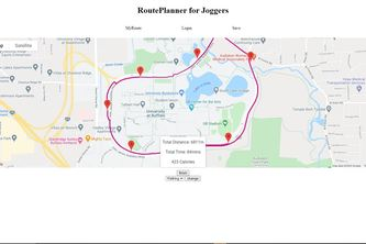 RoutePlanner for Joggers