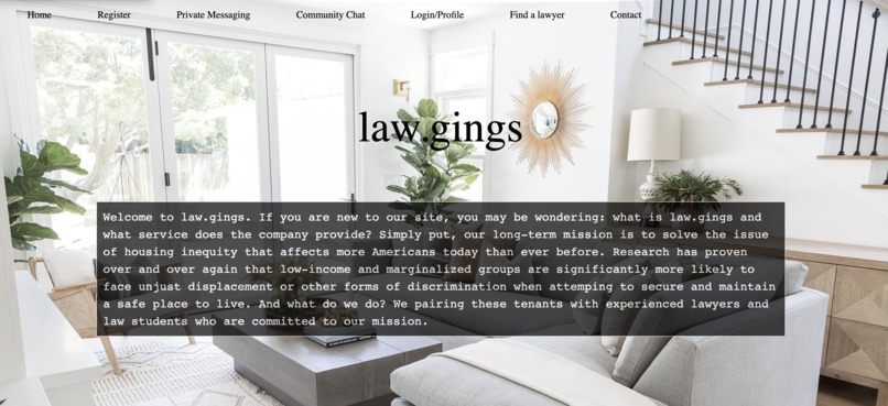 law.gings – screenshot 1