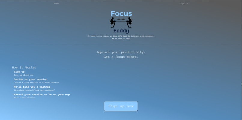 Focus Buddy – screenshot 1