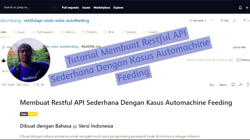 Tutorial Membuat Restful API Sederhana Automachine Feeding – screenshot 1