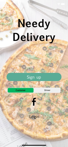 NeedyDelivery_Mobile – screenshot 1