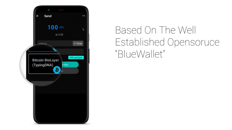 BioWallet – screenshot 2