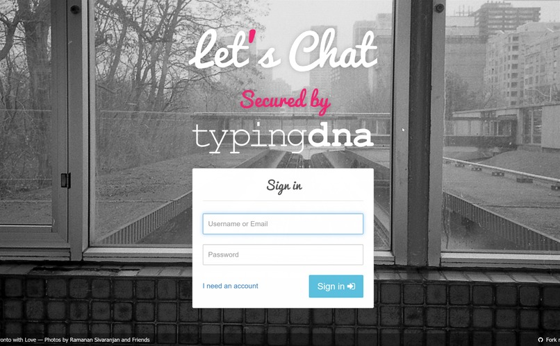 Let's Chat Secured by TypingDNA  – screenshot 1