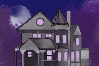 The haunted mansion!