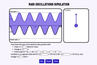 Rabi Oscillation Visualization
