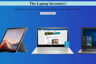 The Laptop Inventory