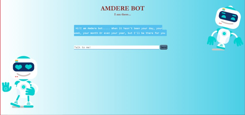 Amdere Bot – screenshot 1