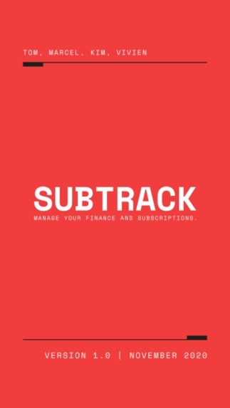 Subtrack: Track your Subscription  – screenshot 1