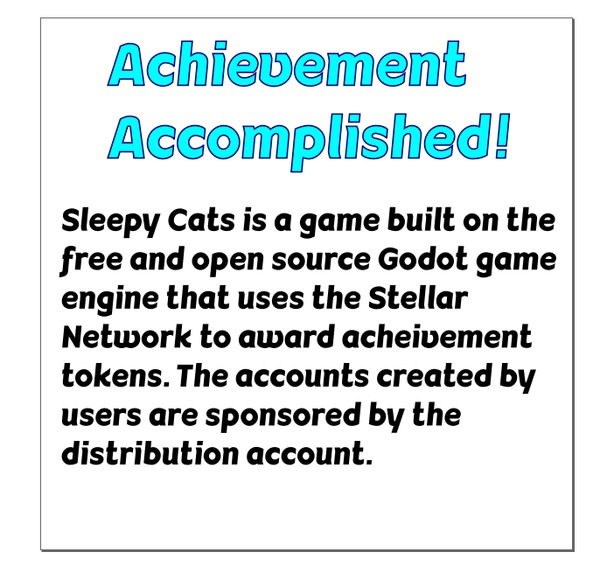 Sleepy Cats - Use Sponsored Reserves in Game Achievements – screenshot 3