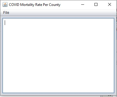 Covid Mortality Rate Per County in Washington State – screenshot 2