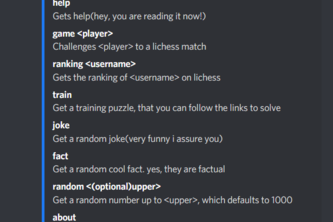 All Chess Discord Bot