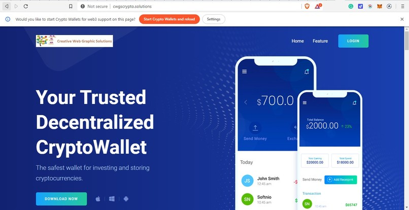 Mexa Wallet – screenshot 1