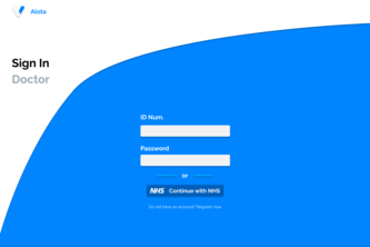 Alota | Electronic Health Record | HackForGood