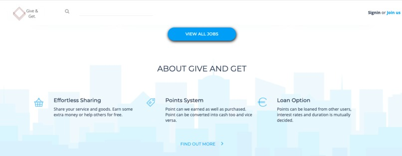 GiGe - Give and Get – screenshot 1