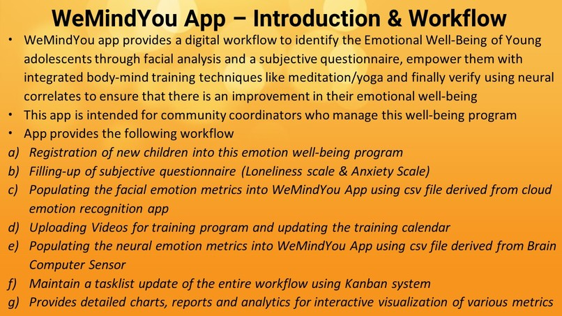 WeMindYou App - Emotional Well-Being of Kids during Covid-19 – screenshot 17
