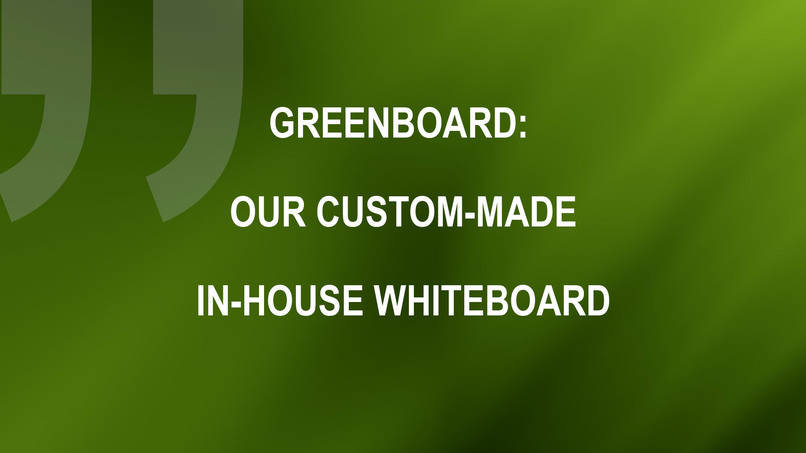 Greenboard – screenshot 1