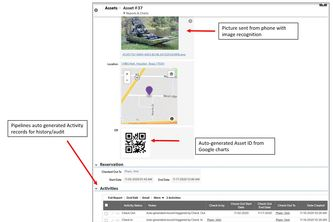 Asset Image Recognition and QR codes