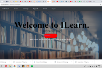 ILearn-Online learning platform to develop or enhance skills