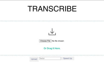 Transcription App