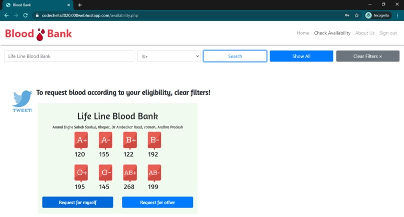 Blood Finder Bot – screenshot 6