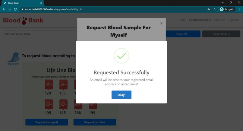 Blood Finder Bot – screenshot 7
