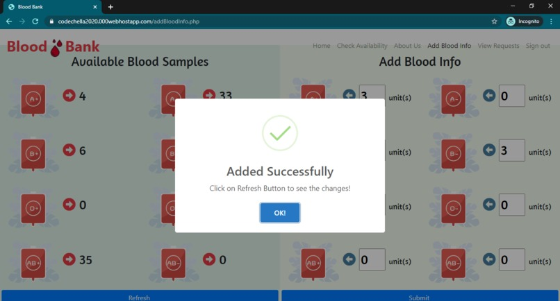 Blood Finder Bot – screenshot 12