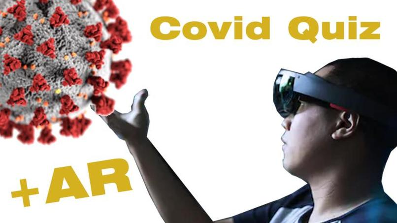 Covid Quiz + AR – screenshot 1