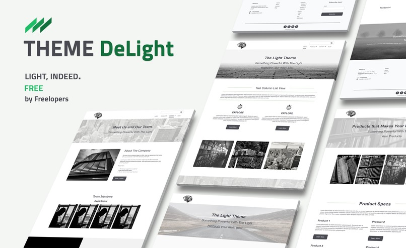 Theme DeLight – screenshot 2