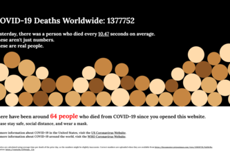 Covid Deaths Visualizer