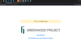 Greenwood Project - Opportunity Hack