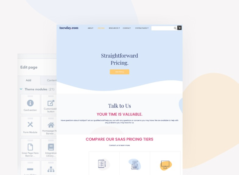 SaaS Website Theme by Horseshoe + co. – screenshot 8
