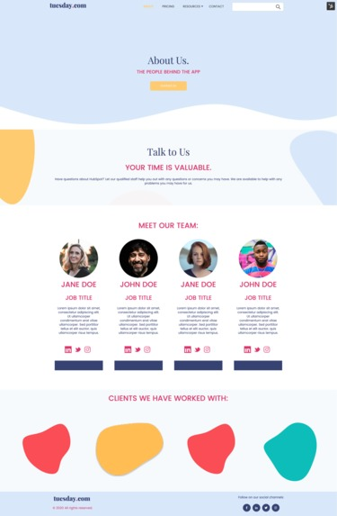 SaaS Website Theme by Horseshoe + co. – screenshot 5