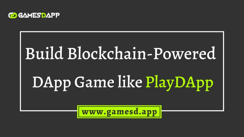 Build DApp Crypto Gaming Platform like PlayDApp – screenshot 1