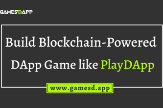 Build DApp Crypto Gaming Platform like PlayDApp