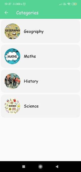 Quiz App – screenshot 2