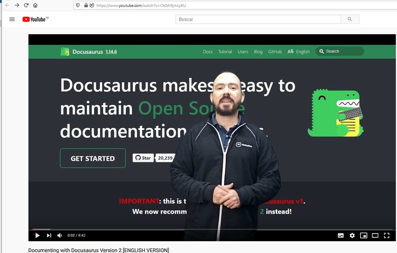 Documenting with Docusaurus Version 2 for beginners – screenshot 9