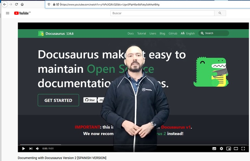 Documenting with Docusaurus Version 2 for beginners – screenshot 10