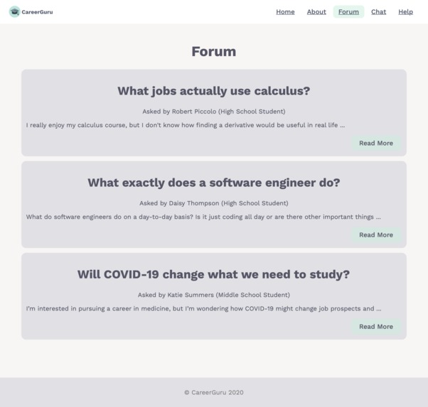 CareerGuru – screenshot 3
