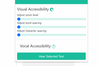 SimplifyMe (Chrome Extension for Web Accessibility)