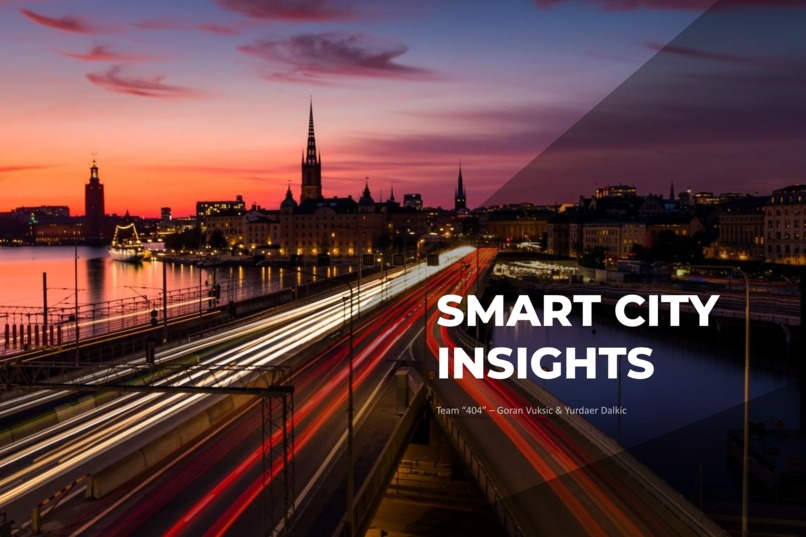 Smart City Insights – screenshot 1