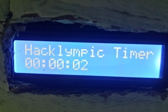 Hacklympic Timer