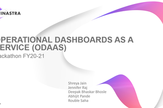 Operational Dashboards as a service (ODaaS)