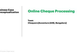 Online Cheque Processing