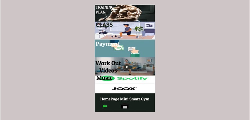 SI4306-MINI SMART GYM – screenshot 1