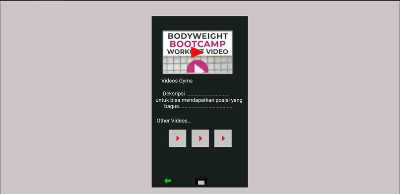 SI4306-MINI SMART GYM – screenshot 3